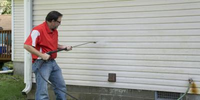 How to Pressure Wash a House With Steel Siding, Lincoln, Nebraska