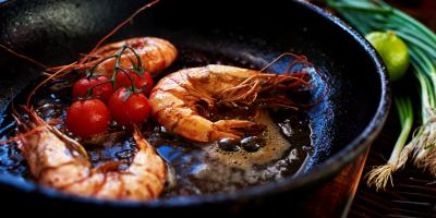The Difference Between Blackened & Grilled Seafood, Manhattan, New York