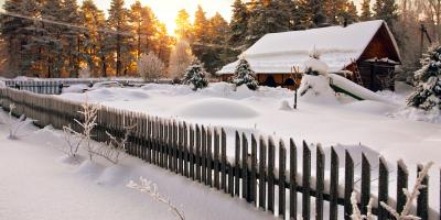 How to Protect Your Wood Fence in the Winter, Spencerport, New York