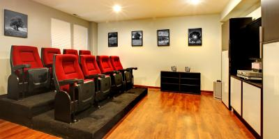 How to Create the Perfect Movie Theater in Your Custom Home, Chillicothe, Ohio
