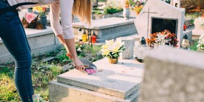 3 Ways to Care for a Headstone to Promote Longevity , Le Roy, New York