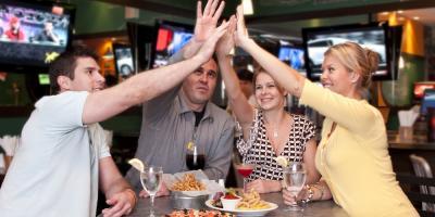 Cincinnati Enquirer's Praise for Downtown Sports Bar & Its Wings, Cincinnati, Ohio