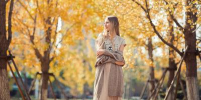 4 Stylish Ways to Wear Dresses in the Fall, Walton, Kentucky