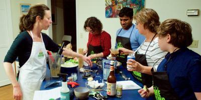 Thai cooking class, Asheville, North Carolina