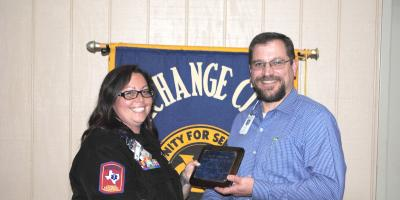 Golden Deeds Award Presented to Coryell Health EMS Supervisor, Heather Reeder, Gatesville, Texas