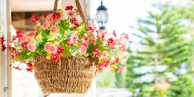 How to Take Care of Hanging Flower Baskets, Anchorage, Alaska
