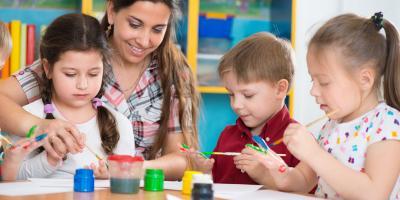 The Major Differences Between a Child Care Center & a Preschool, Lincoln, Nebraska