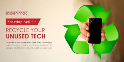 Electronics Recycling for Earth Day at Experimac Klein, Northwest Harris, Texas