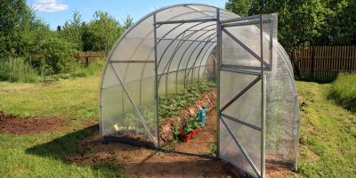 Building a Greenhouse in 3 Steps, Old Lyme, Connecticut