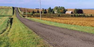 Do's & Don'ts of Driving on Gravel or Dirt Roads, La Crosse, Wisconsin