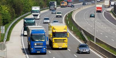3 Safety Tips When Driving Next to Trucks, High Point, North Carolina