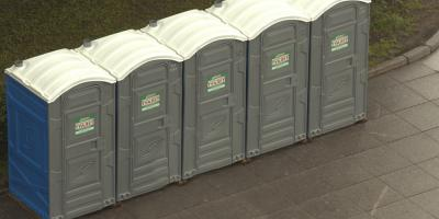 Portable Restroom Rental: 4 Considerations When Deciding How Many You Need, Wellston, Ohio