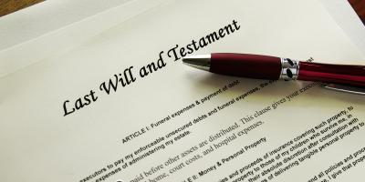 Understanding the Differences Between Wills & Living Trusts, Blue Ash, Ohio