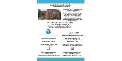 Health & Wellness Event, Troy, Ohio