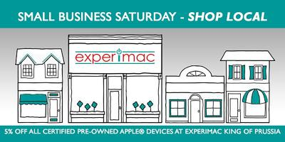 Small Business Saturday Special - 5% OFF Apple® Devices, King of Prussia, Pennsylvania