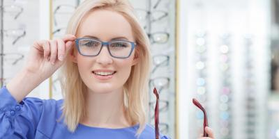 3 Factors to Consider When Choosing Frames for Your Glasses, Brooklyn, New York