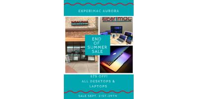 $75 OFF! End of Summer Computer Sale , Aurora, Colorado