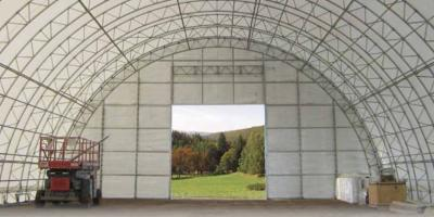 Advantages of Fabric Covered Steel Buildings, Fairbanks, Alaska