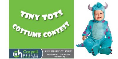 RehabLiving Hosts Tiny Tots Costume Contest, Gatesville, Texas