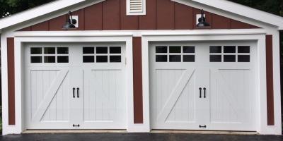 3 Popular Garage Door Styles to Consider, Rochester, New York