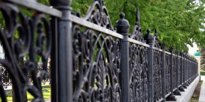 The Difference Between Aluminum & Wrought Iron Fences, Hamptonburgh, New York