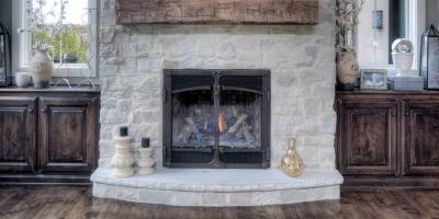 Stone Veneer Fireplace Ideas That Will Warm You Up!, Dayton, Ohio