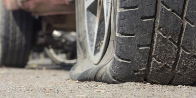 Towing Company's Do's & Don'ts for Flat Tires, Helena Flats, Montana