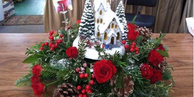 4 Festive Flowers for Christmas Arrangements, Penfield, New York