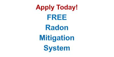 Apply for a Free Radon Mitigation System, Lincoln, Nebraska