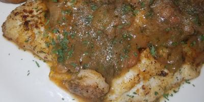 Thursday Dinner Special - Fresh Catch w/ Etouffee Sauce!, Bon Secour, Alabama