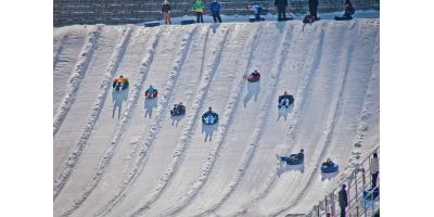Come Prepared for Snow Tubing at Beach Mountain, Mason, Ohio