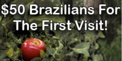 $50 Adam & Eve Brazilian-Tomorrow Only!, Rochester, New York