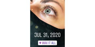 One Day Only Save 20% on Lash Extensions/Lash Lifts WAXITALL, Rochester, New York