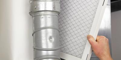 Replacing Your Furnace Filter, Harrisburg, North Carolina