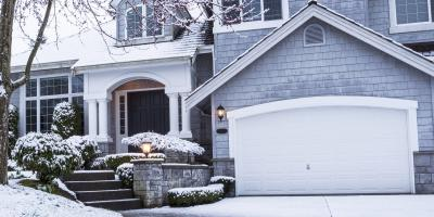 3 Ways to Keep a Garage Door From Freezing Shut, Greece, New York