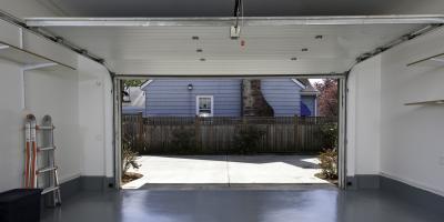 3 Main Parts of a Garage Door, St. Paul, Minnesota
