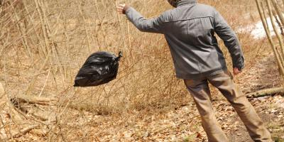 3 Consequences of Illegal Waste Disposal, Princeton, West Virginia