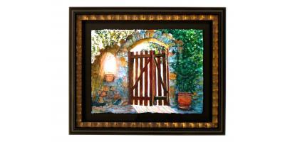 The Garden Gate by Nan Northrup, Lakeville, Minnesota