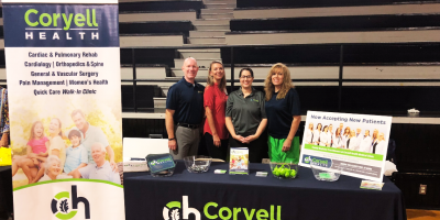 Coryell Health Welcomes GISD Staff Back to School, Gatesville, Texas