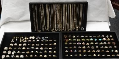 Gold Necklace & Ring Sale 10% off , Greece, New York