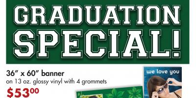 Save on Graduation Banners and Posters Until June 30th!, Honolulu, Hawaii