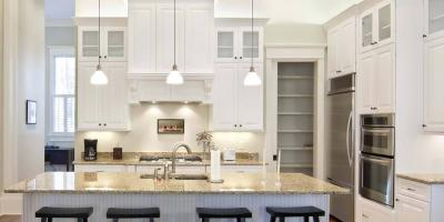 3 Granite Countertops to Pair With White Cabinets, Newington, Connecticut