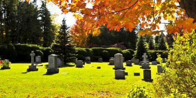 Does the Color of Gravestones Matter?, Bolivar, Missouri