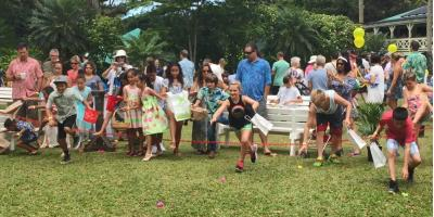 Looking for Things to Do in Haleiwa? Attend the Easter Brunch & Egg Hunt at Waimea Valley, Koolauloa, Hawaii