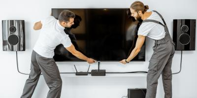 Why to Avoid Taking a DIY Approach to Mounting a TV, Anderson, Ohio