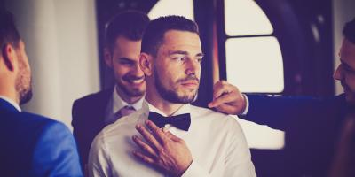 Getting Ready for the Ceremony- For the Groom, Reading, Ohio