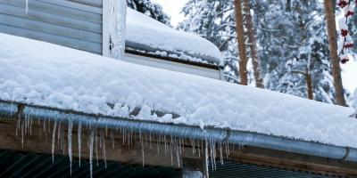 How Snow & Ice Can Damage Your Roof, New Hartford Center, Connecticut