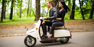 A Guide to Riding a Two-Passenger Scooter, Kihei, Hawaii