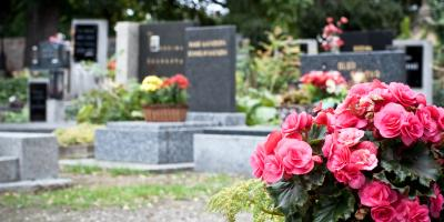 A Guide to Leaving Flowers at a Headstone, Mount Orab, Ohio
