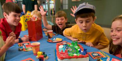 Here's an Excellent Birthday Party Idea: Head to EnterTRAINment Junction , West Chester, Ohio